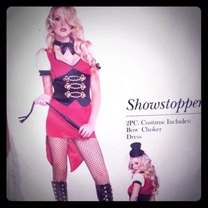Showstopper 2 Piece Sexy Circus Costume